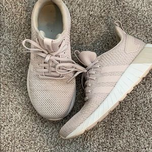 LIGHTLY USED ADIDAS PINK SNEAKERS
